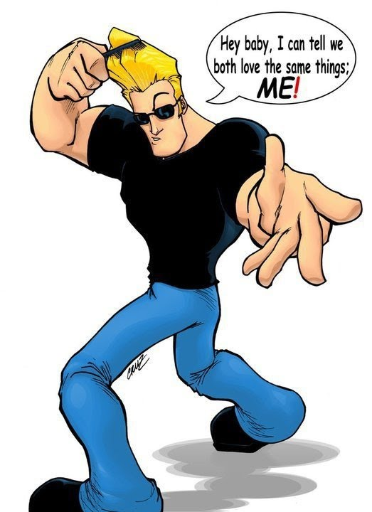 johnny bravo wallpaper. Johnny Bravo - Hey Baby,