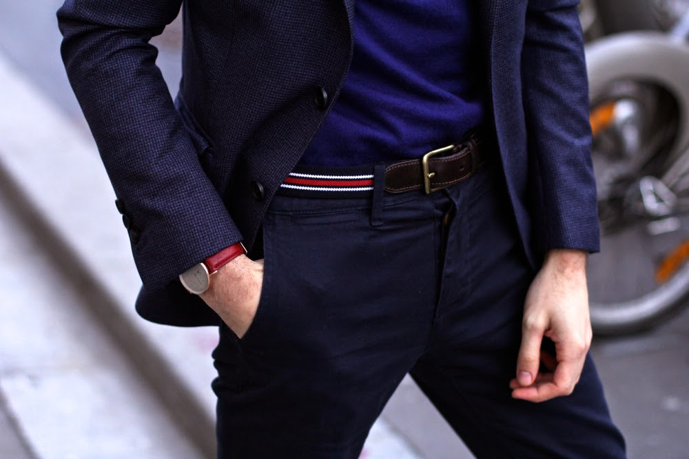 Charlie-Watch-montre-Blazer-The-Kooples-Fairmont-chaussures-Uniqlo-ceinture-Emile-Lafaurie-Pull-sweater-Blog-Mode-Homme-Style-Preppy-Paris-Mensfashion2