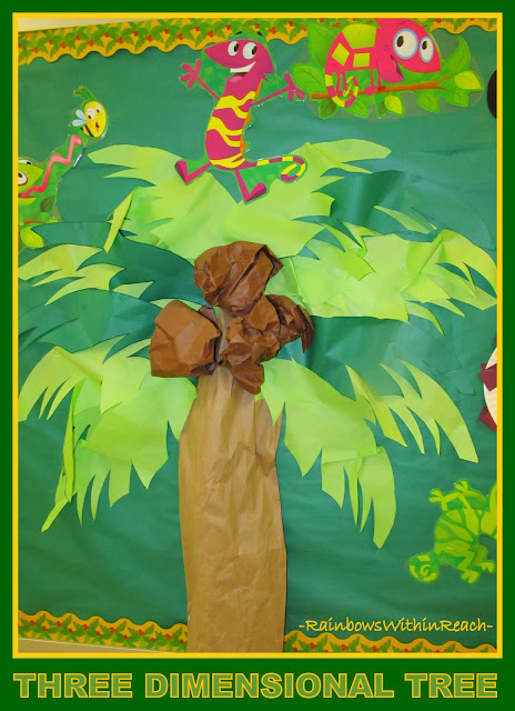 photo of: Palm Tree on the Bulletin Board via RainbowsWithinReach