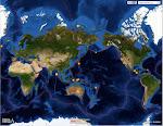 Карта землетрясений в режиме реального времени