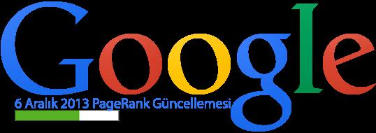 Google 6 Aralık 2013 PageRank Güncellemesi