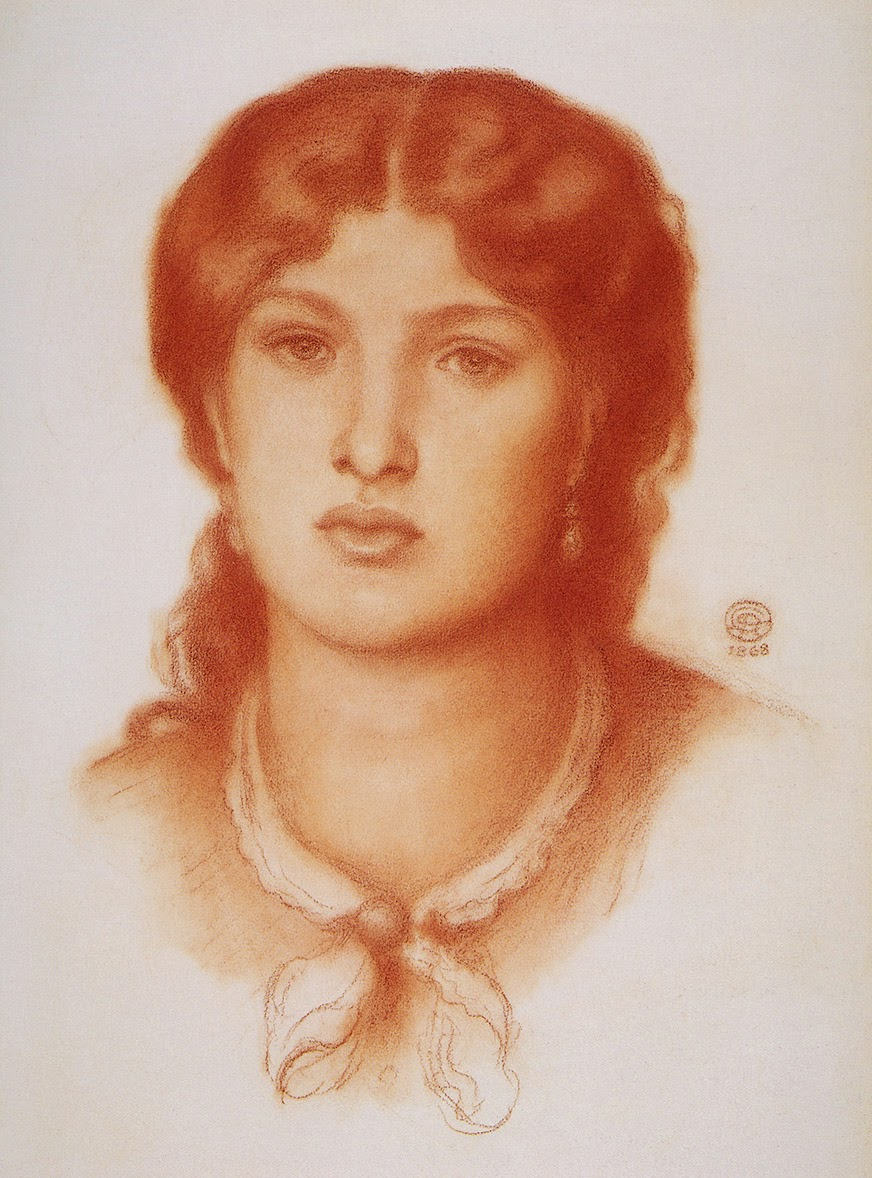 Dante Gabriel Rossetti - Fanny Cornforth - Birmingham