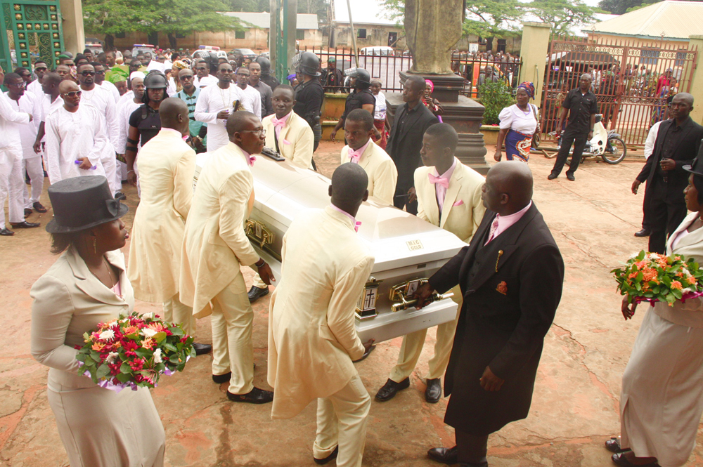 P Square Mother Burial Video More Photos From P-Squ...