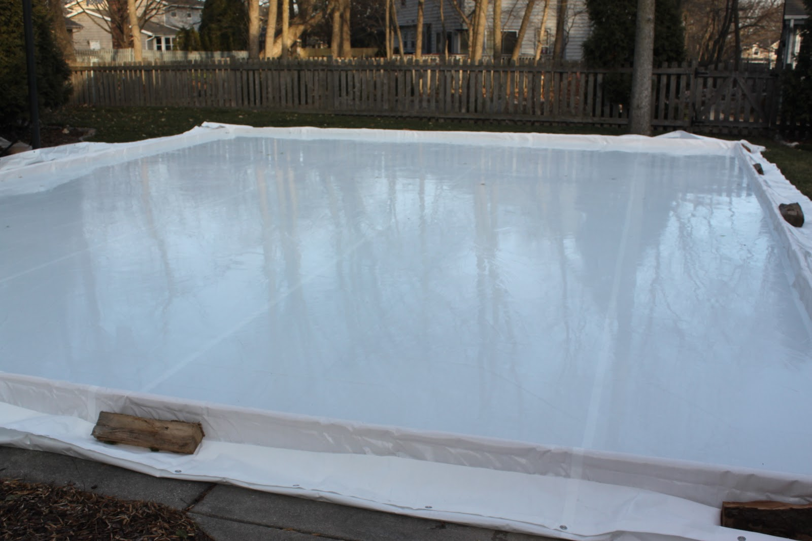 my best friend craig diy building an ice skating rink