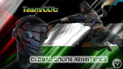 Team root defacement