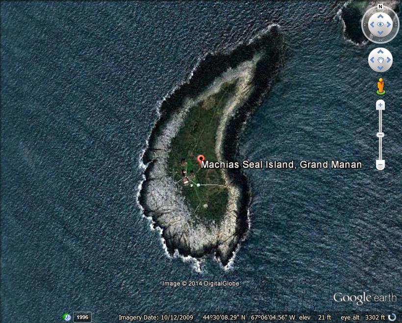 Machias Seal Island - disputed island ranked 7th