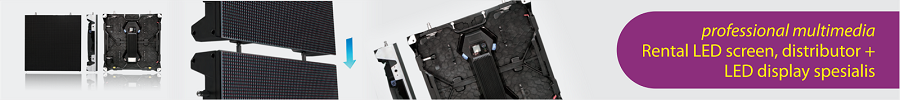 i LED pro, rental LED wall, distributor dan provider