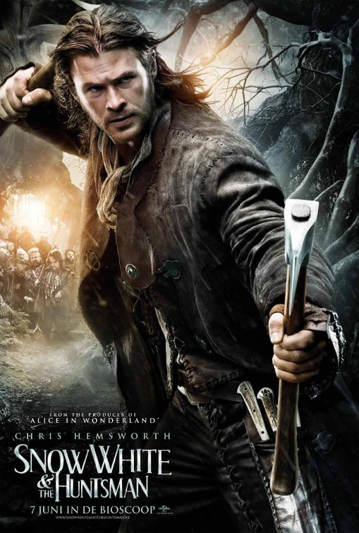 Snow White and The Huntsman New Posters & Wallpapers - Movie DB ...