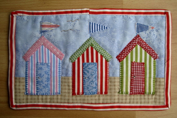 Quilting Times Beach Huts May Round Up And An Introduction