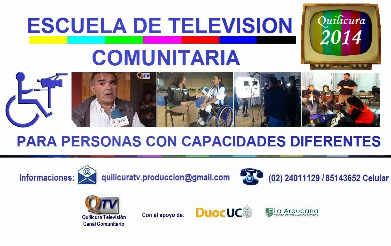 ESCUELA GRATUITA  DE TELEVISIÓN COMUNITARIA PARA PERSONAS CON CAPACIDADES DIFERENTES - 2014