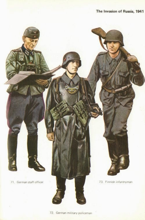 Early War German Infantry Uniforms Pictures 5