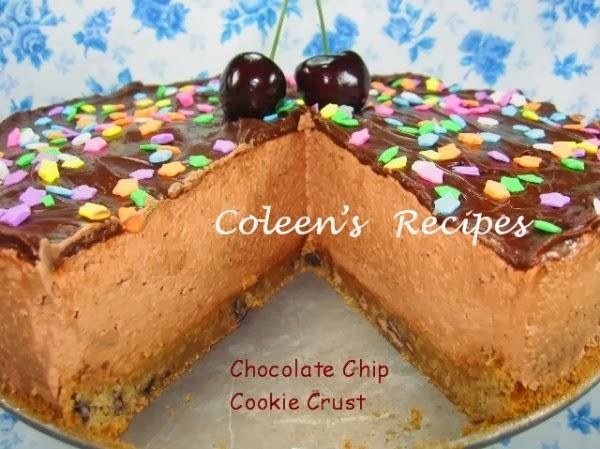 Coleen's Recipes: NO-BAKE CHOCOLATE CHEESECAKE