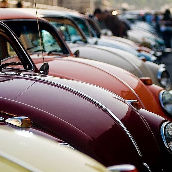 Suede and Chrome: Vintage VW
