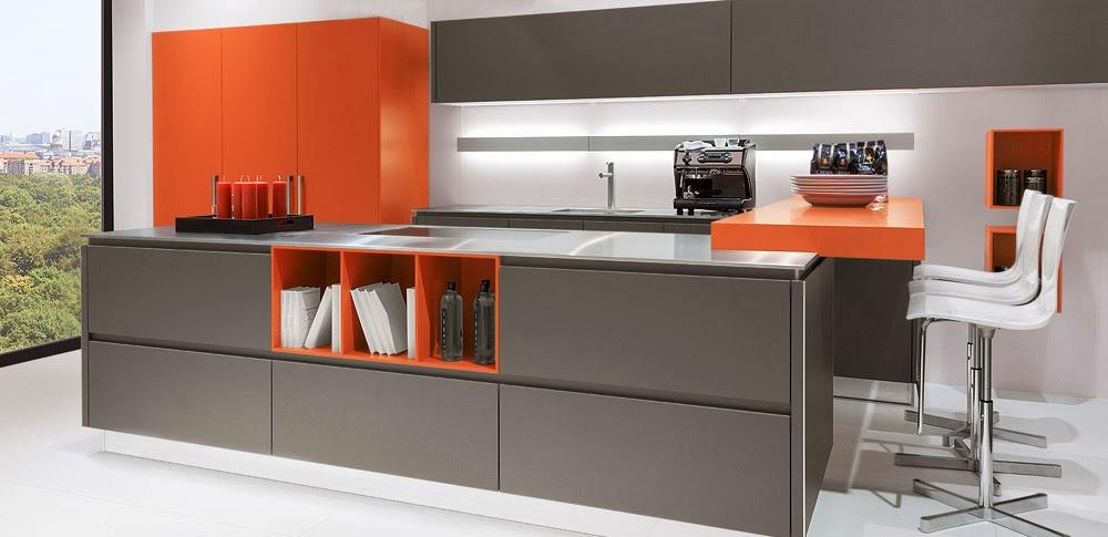 Cocinas descaradamente abiertas - Cocinas con estilo