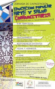 Capacitación en Salta en Educación Popular, Arte y Salud