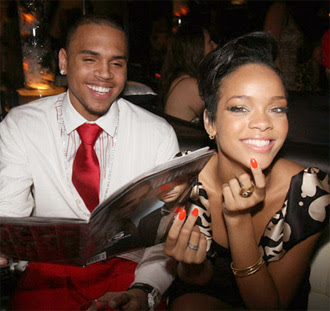 pictures of chris brown and rihanna