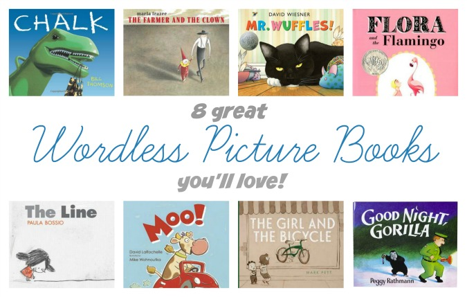 8 awesome wordless picture books to read with your kids/class