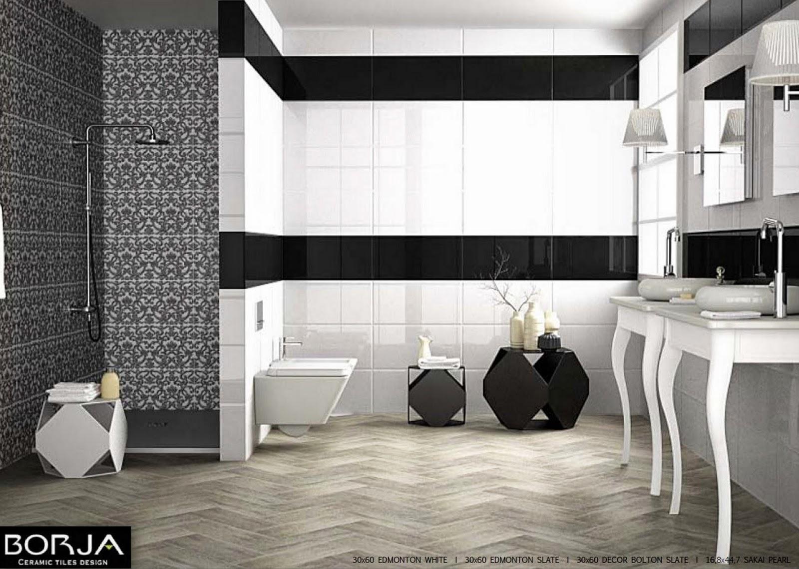 Black and white concept | BORJA CERAMIC TILES DESIGN
