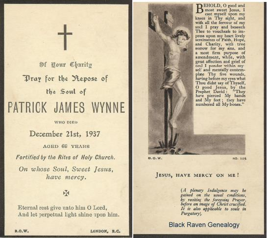 Patrick Wynne (1868 - 1937)
