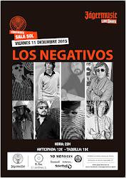 Los Negativos - El Sol - 11/12/2015