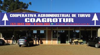 Associação dos Hortifrutigranjeiros de Turvo, agora é Cooperativa Agroindustrial Coagrotur.