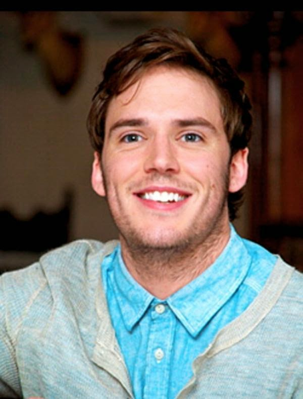 Tv Star Sam Claflin Shirtless Smilling Images