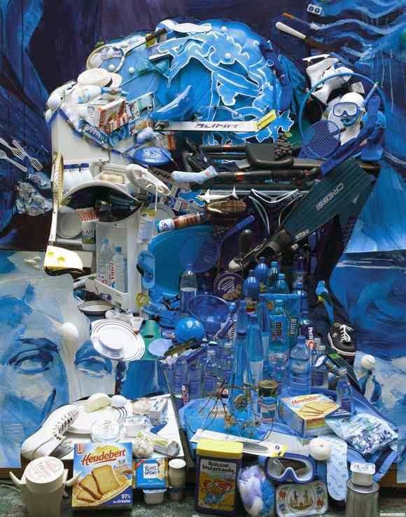 karya seni instalasi bernard pras