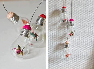 reciclagem -  lâmpada queimada