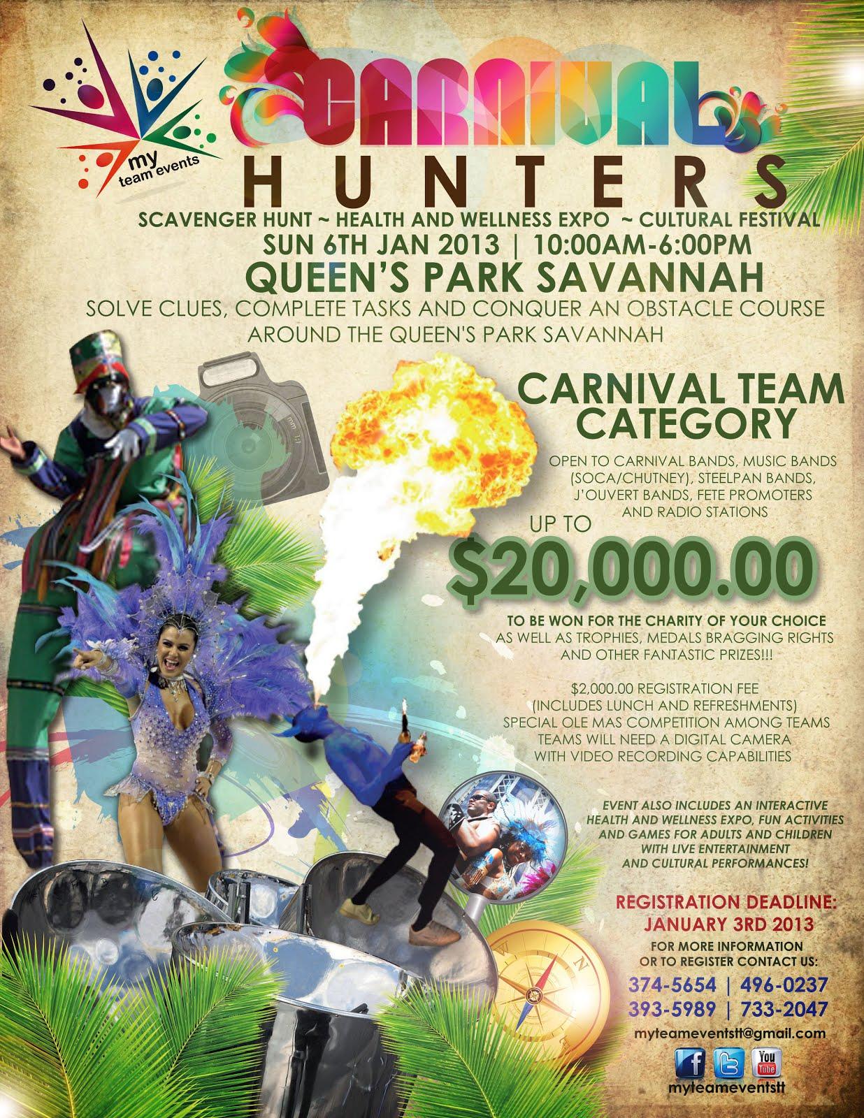 scavenger hunt health and wellness