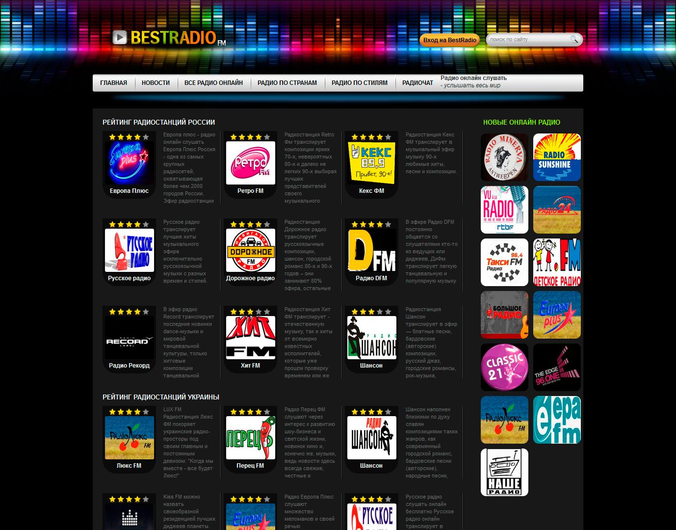 Радио онлайн бесплатно 22 фотография