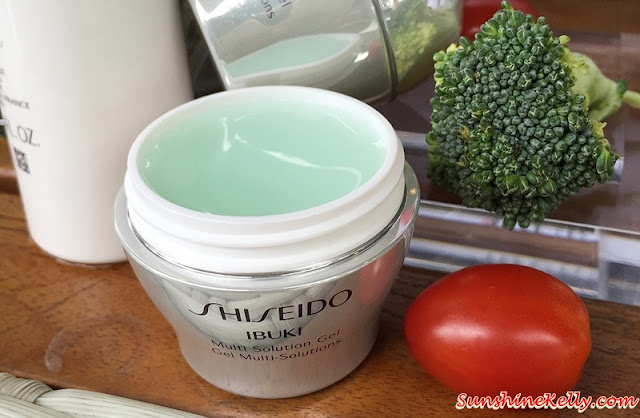 Shiseido IBUKI Multi Solution Gel Review, Shiseido Malaysia, Shiseido, Ibuki skincare, Shiseido Ibuki, Beauty Review