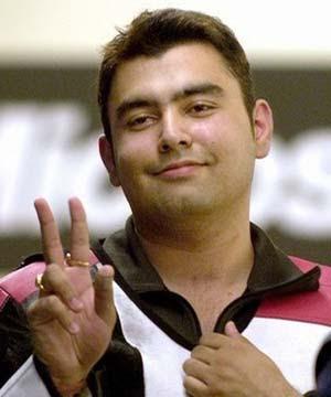 Gagan Narang wins bronze medal for India.