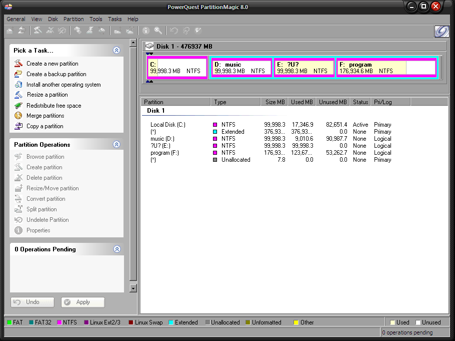This Pe-Builder plug-In for Partition Magic 8. 0x will work with BartPE and