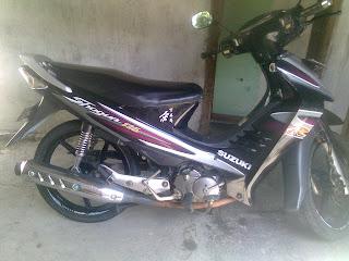 Jual Motor Shogun 125 tahun 2005 plat PONOROGO