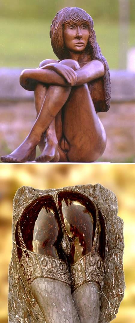 galerias eroticas y esculturas belleza