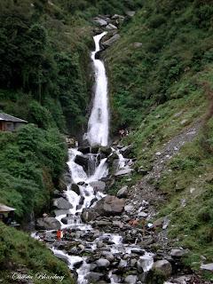 Bhagsunath waterfall near Mcleodganj, India