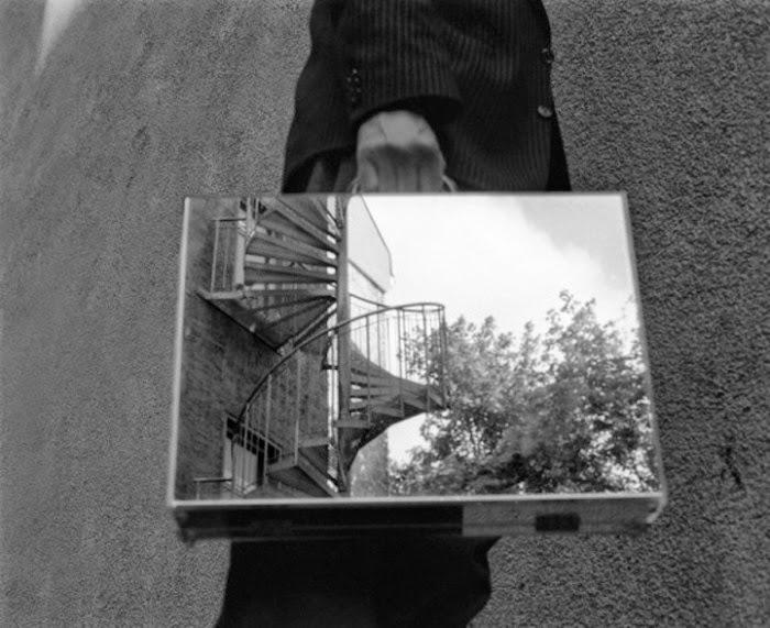 The Mirror Suitcase Man