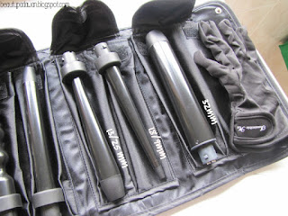 Irresistible Me Sapphire 8-in-1 Curling Wand: 13/25mm wand, 18/9mm wand, 32mm wand