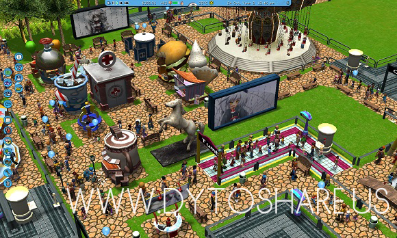 RollerCoaster Tycoon 3 Platinum! - Clone bagas31