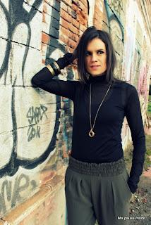 style vestimentaire sarouel kaki, lookbook, style street et féminin