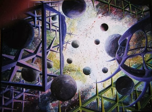Dunia Abstrack dalam Lukisan Patricio Marambio Escudero