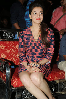 Kajal Agarwal Latest Pictures at Govindudu Andarivadele Movie Teaser Launch  8211.JPG