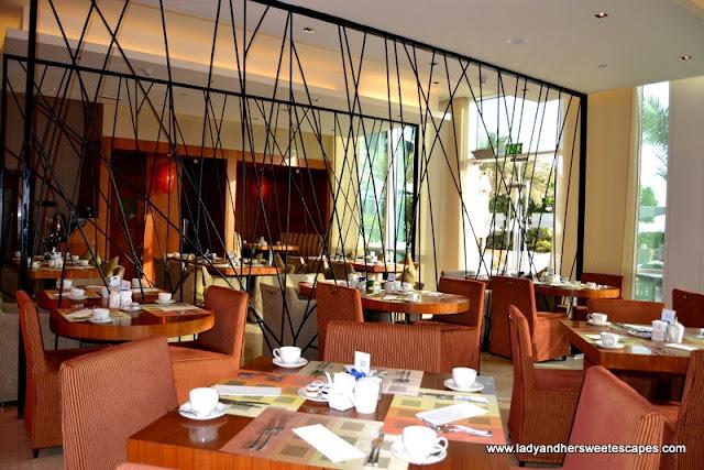 Yas Island Rotana's All-Day-Dining restaurant