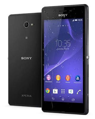 Spesifikasi dan Harga Sony Xperia M2 Aqua