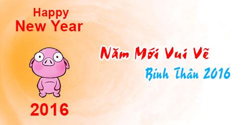 Ảnh chúc năm mới vui vẻ dễ thương nhất 2016 - ảnh 2