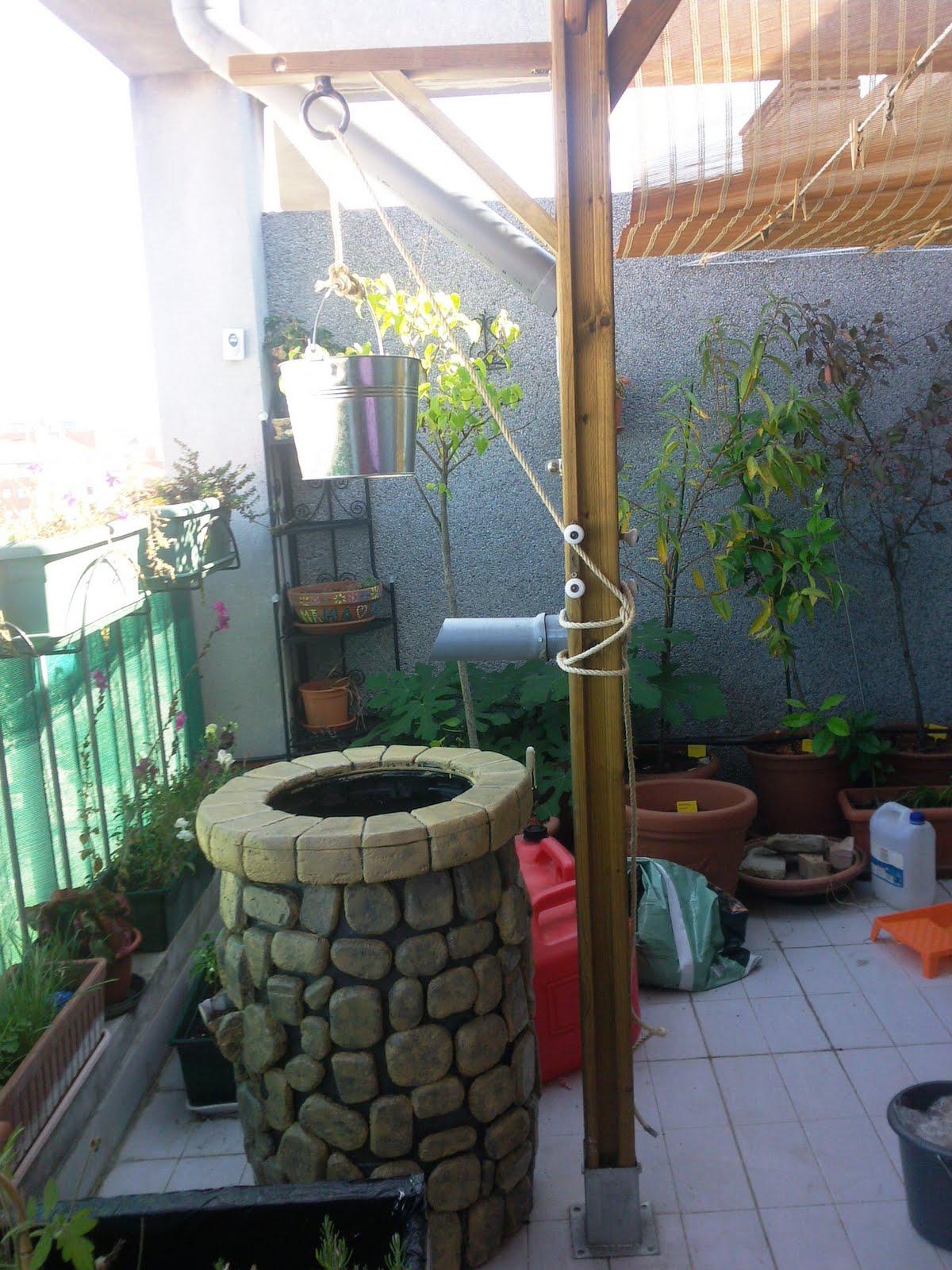 Bruja pelirroja otros proyectos un pozo de agua de lluvia - Recoger agua lluvia ...