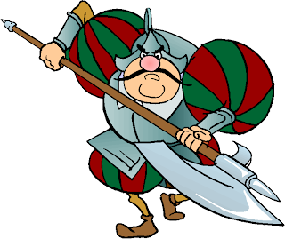 Warrior with an Axe Free Clipart