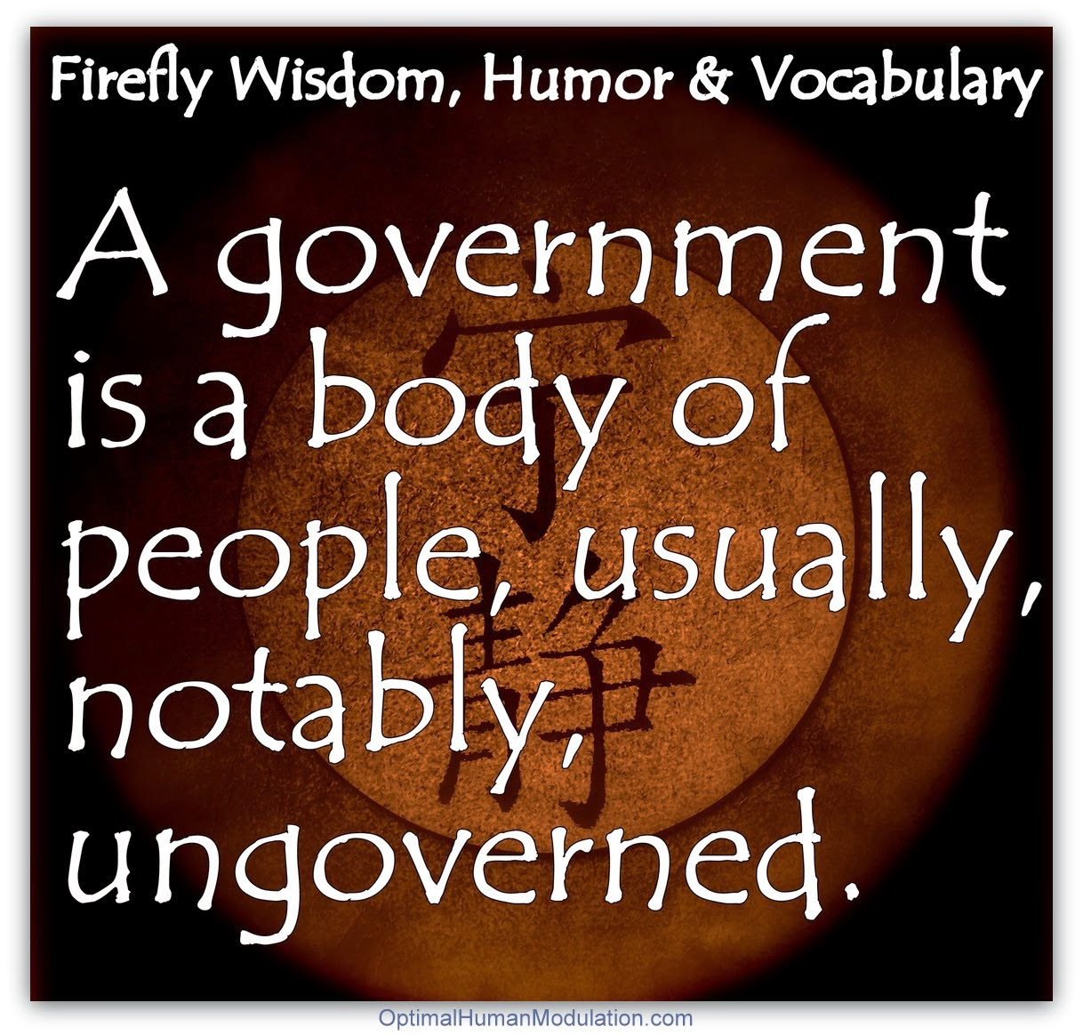 What's a government?