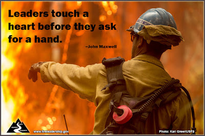 Leaders touch a heart before they ask for a hand.  –John Maxwell