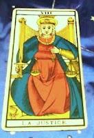 La Justicia Arcano VIII